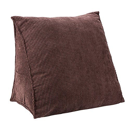 29 99 Brown Med Halovie Triangle Pillow Back Wedge Cushion 47