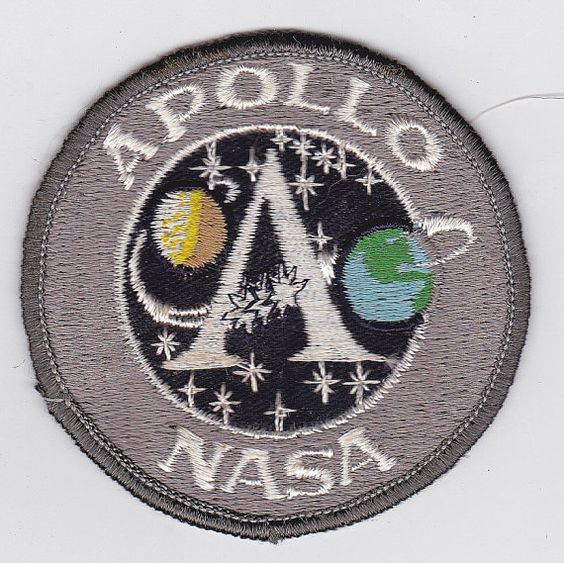 Vintage Nasa Apollo Mission Patch by onetime on Etsy, $3.00