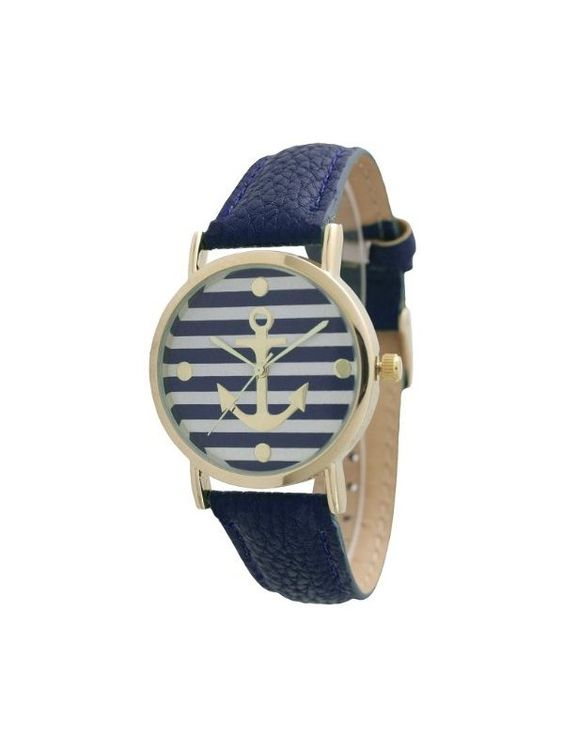 Stripped Anchor Wrist Watch (with an additional battery) Code no: W93:027 Price: ₹.649/- Ordering Details: Contact/whatsapp @07666649710/09022910123 Payment Mode: COD all over India✔️ Bank Transfer ✔️ Delivery period: 8-10days maximum if cash on delivery  4-5days maximum if NEFT/bank transfer