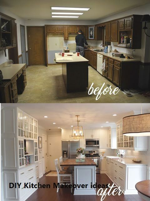 11 Diy Ideas For Kitchen Makeover In 2020 Kitchen Remodel Design Farmhouse Kitchen Remodel Kitchen Remodel Small