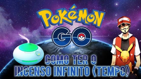 Pokémon GO - Como ter o Incenso Infinito (Tempo) (Pokémon GO Gameplay) #...