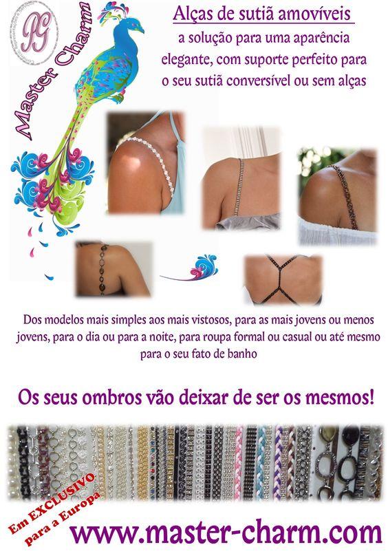 Artigos exclusivos em Portugal pela Master Charm - www.master-charm.com