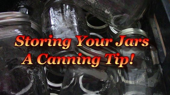 Tip For Safely Storing Your Empty Jars!