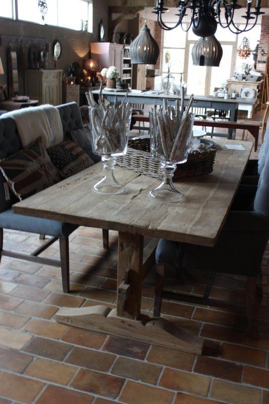 Landelijke Keukens Den Ham : Hoffz boeren eettafel boeren tafel Pinterest Interieur