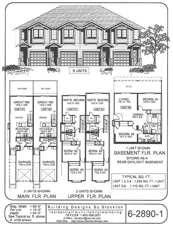 Building designs design and building on pinterest for 4 plex designs