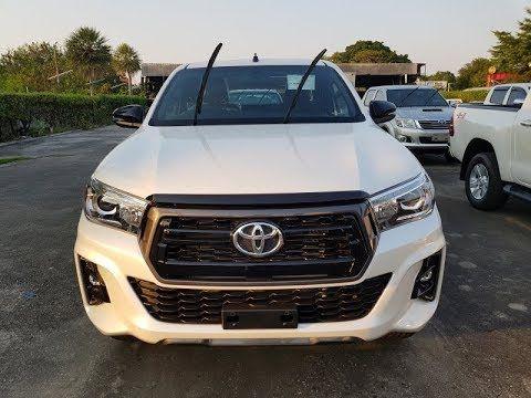 2019 2020 Toyota Hilux Revo 2800 Cc 4wd Thailand Smart Cab White Facelif Toyota Hilux Toyota Pickup Trucks