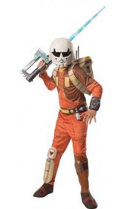 disfraz de ezra star wars rebels deluxe para nio