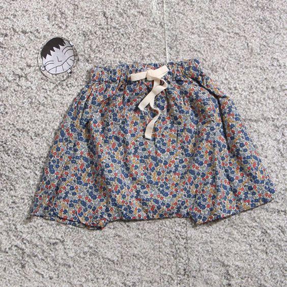 Mazel Tov Floral Shorts (2C) — jujubunnyshop