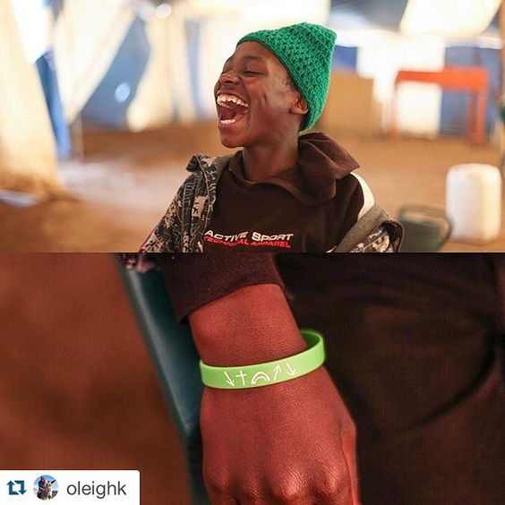 This is Ntene, an amazing kid that comes to the orphan care center every day. He can neither hear nor speak but thanks to the tireless efforts of some sign language artists, he can communicate and learn about Jesus. He wears his creed bracelet every day as a statement of faith, knowing God has big plans for his life even with his disabilities. Not to mention that amazing SMILE!! We love this kid!