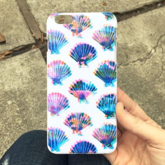 Mermaid Shell iPhone Case: