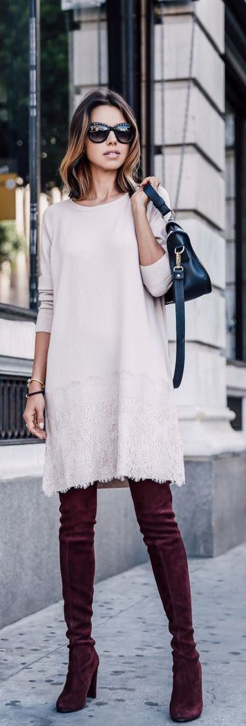 Trending - Sweater Dress