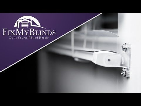 Installing Blind Hold Down Brackets Fix My Blinds Blind Repair