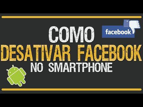 Como Desativar Facebook pelo Celular - YouTube
