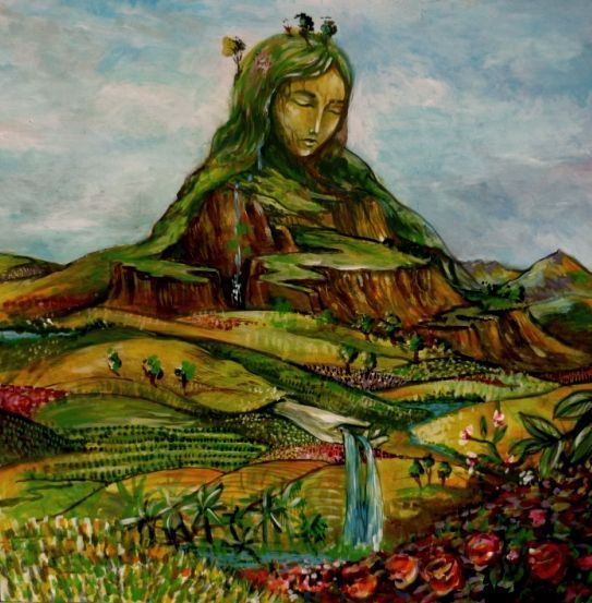 Pachamama is a Mother Earth goddess venerated by indigenous South American Andean traditions.: