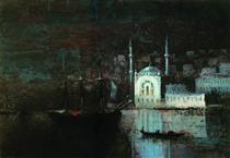 Night Constantinople - Ivan Aivazovsky