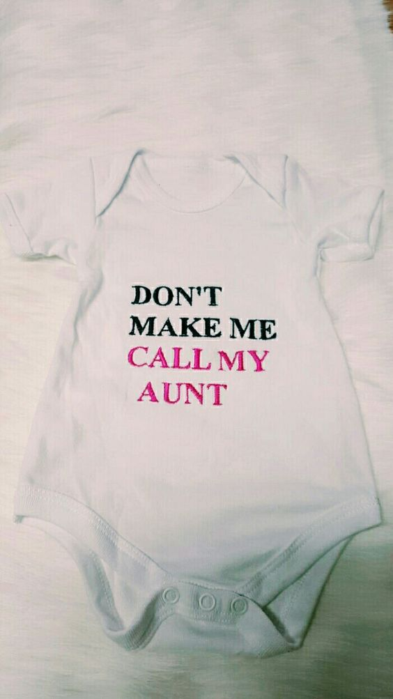I loved personalizing my niece's baby grows. Embroidery done at House of JM Designs.