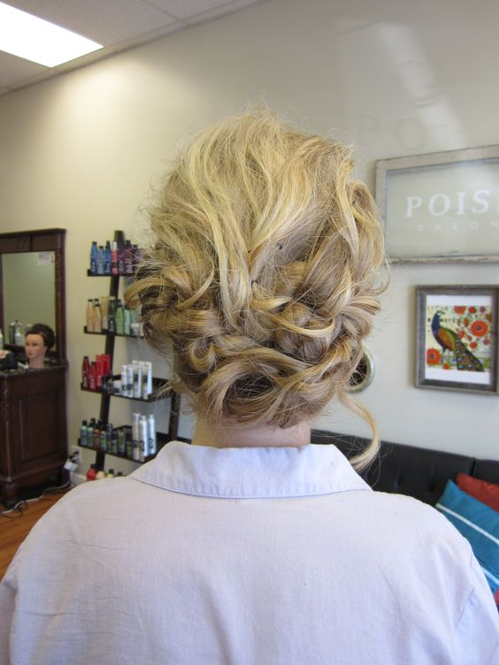 My hair for Spring Formal!