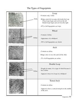 Printables Forensic Science Worksheets forensic science and on pinterest fingerprinting unit