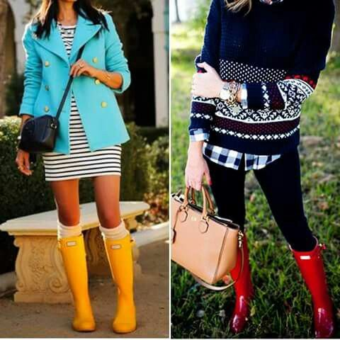 Super tendência e estilosas essas galochas, são as queridinhas das fashionistas.