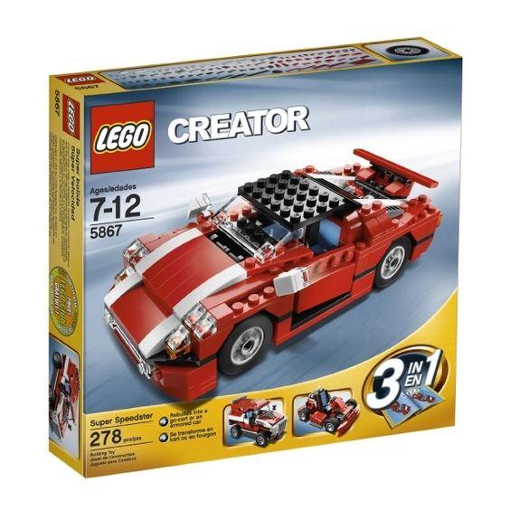 Lego® creator red car