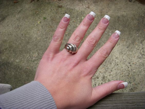 Vintage Sterling Silver Ring 925 Ladies by MyYiayiaHadThat on Etsy, $30.00
