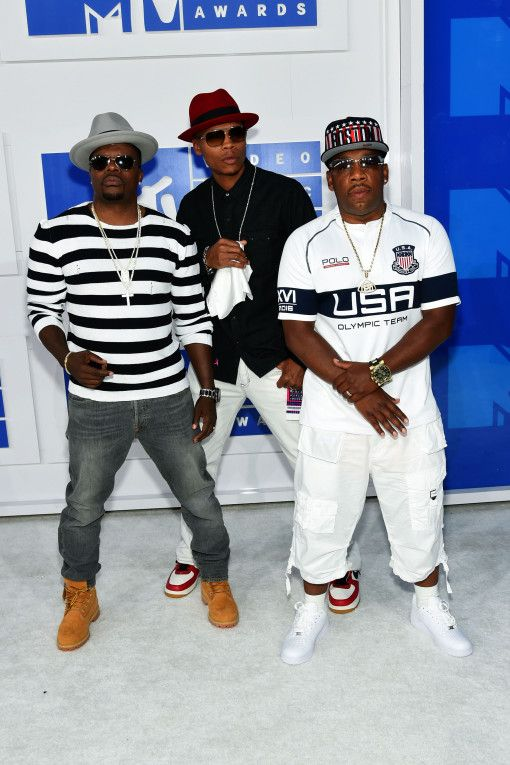 Ricky Bell, Ronnie DeVoe, and Michael Bivins of Bell Biv DeVoe