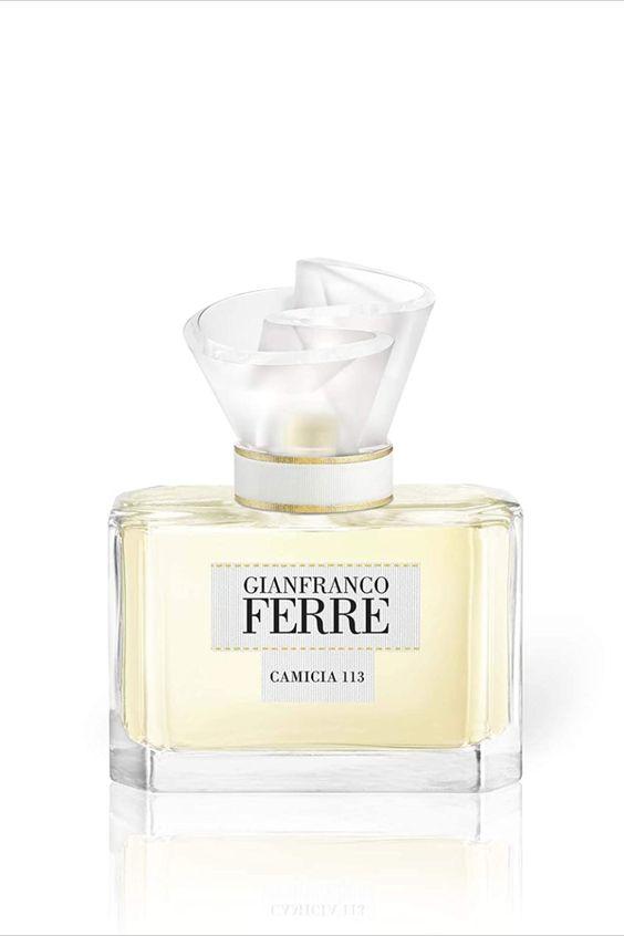 Ein außergewöhnlicher Duft, inspiriert von einem außergewöhnlichen Design. Gianfranco Ferré, Meister der Haute Couture, ist bekannt für seine mutigen und eleganten Designs weißer Blusen. Eines seiner spektakulärsten Designs ist der Entwurf mit dem Namen 'Camicia 113'. Von dieser Bluse inspiriert, spiegelt der Duft die Kreativität, Perfektion und den zeitlosen Stil der Bluse wider. Blumige, orientalische und frische Noten umschmeicheln die Haut und geben einem das... *Pin enthält Werbelinks