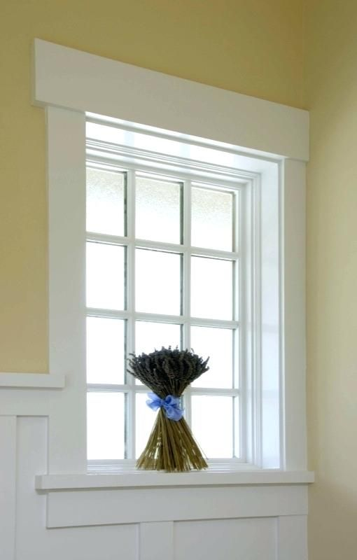 Image Result For Transom Window Molding Craftsman Style