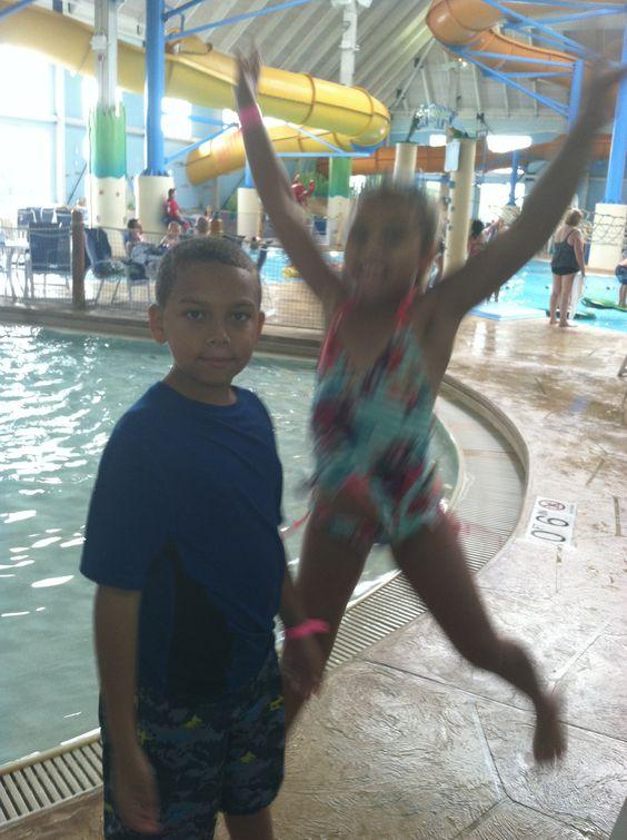 Amaya is having so much fun:)