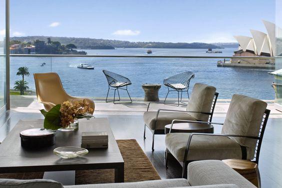 Sydney Harbour Penthouse, Design: Sarah Davison