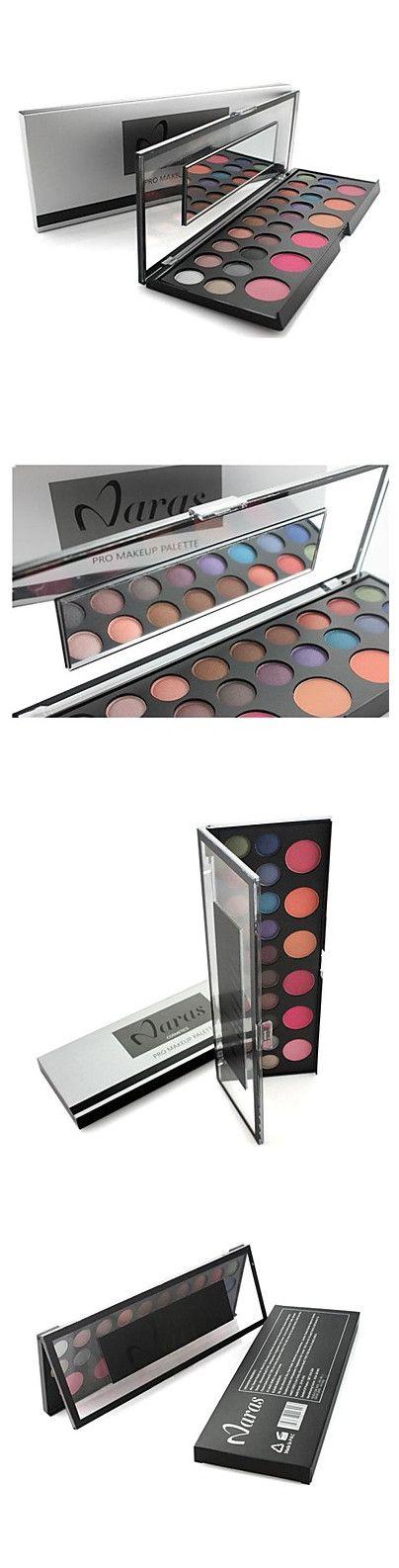 Professional Naras 26 Color Makeup Set 20 Color Eyeshadow+ 6 Color Blush Set Cosmetic Palette Set with Mirrror