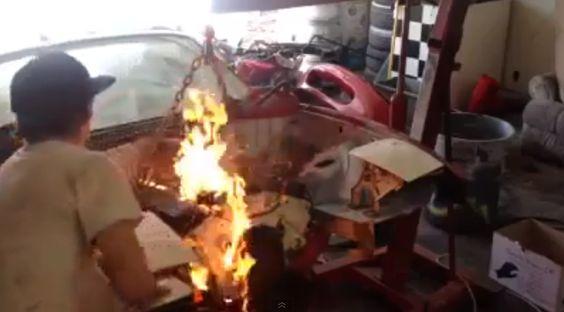 el fuego es también una forma de arte
