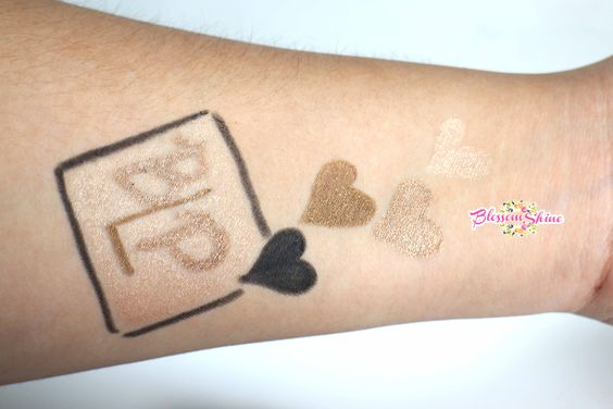 Hand Swatch BLP Beauty Eyeshadow Pen