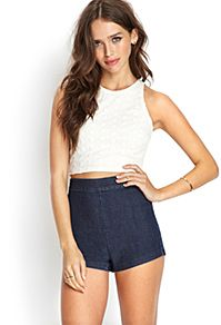 Score cute shorts-denim cutoffs, dressy shorts and more | Forever 21