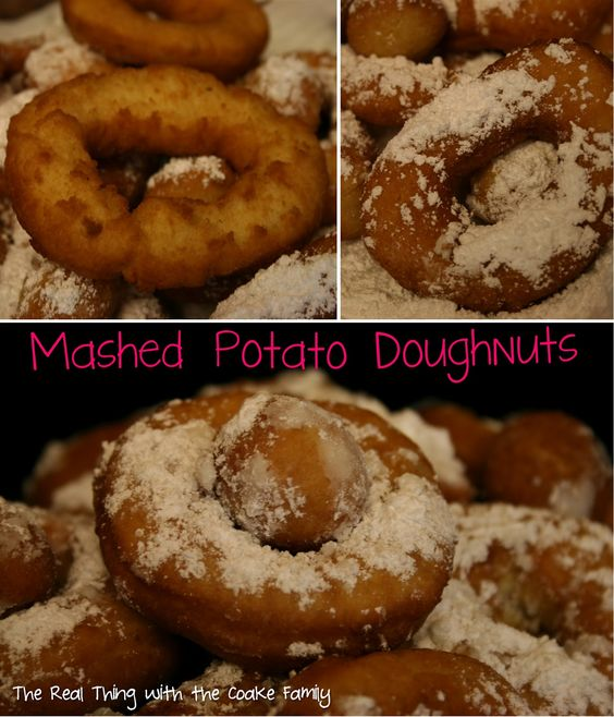 The Real Thing with the Coake Family: Mashed Potato Doughnuts (Recipe)