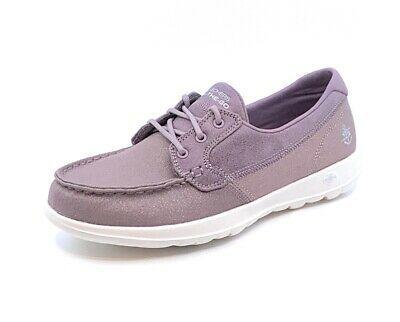 Details About Skechers Women S Casual Comfort Boat Shoes Go Walk