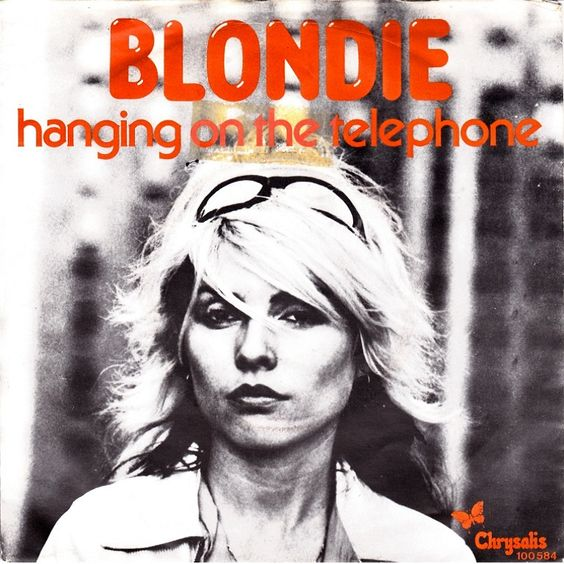 Blondie – Hanging on the Telephone (single cover art)