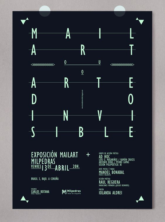 Posters / Alberto Carballido   Design Graphique