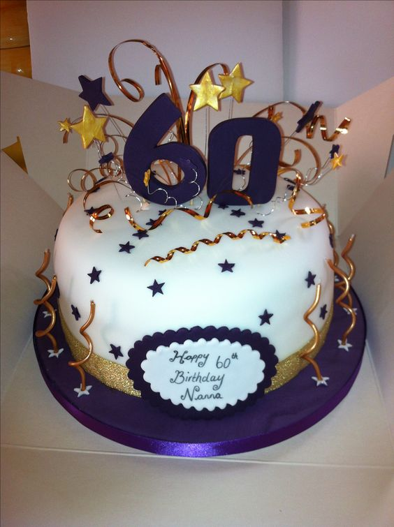Cake Ideas For 60th Male Birthday : 60th Birthday Cake Sealife Pinterest Birthdays ...