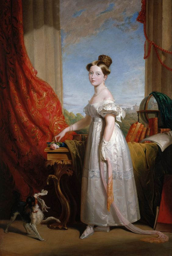 Queen Victoria (1819-1901), when Princess 1833. This is a copy of the portrait (RCIN 400569) painted for Leopold I, King of the Belgians