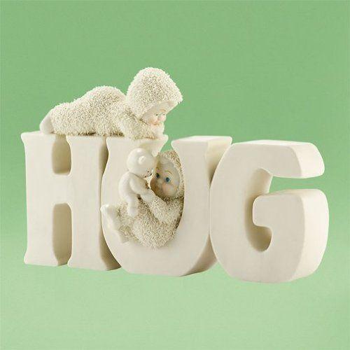 Snowbabies H-u-g 4031914. #Snowbabies #Statue #Sculpture #Decor #Gift #gosstudio . ★ We recommend Gift Shop: http://www.zazzle.com/vintagestylestudio ★