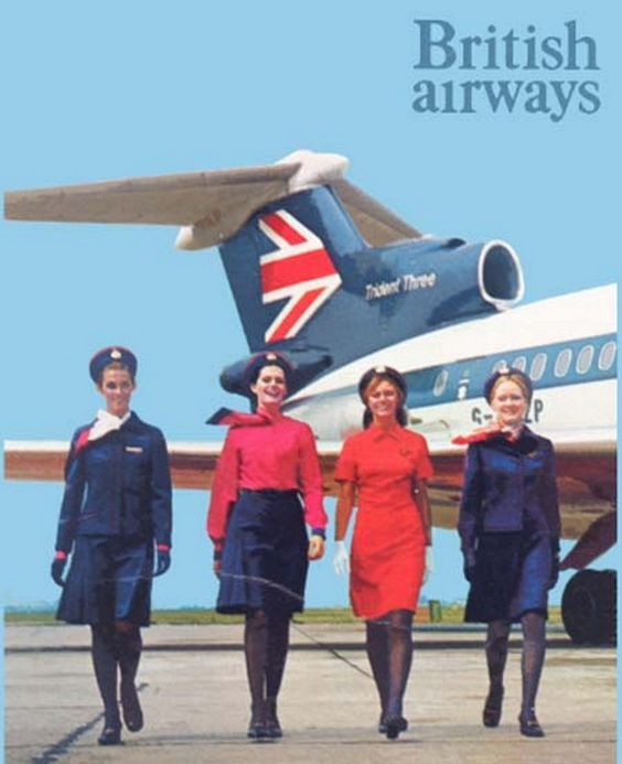 British Airways I remember this campaign from my youth - british airways flight attendant sample resume