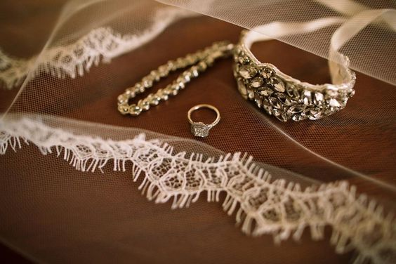 Beautiful engagement ring and wedding jewelry / accessories - photographed by Anna Kim Photography
