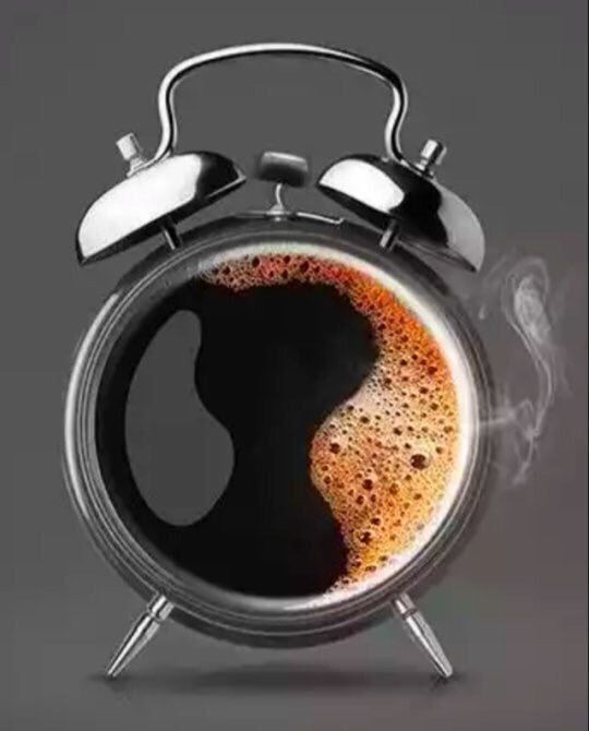 Yep It S Coffee Time Ring A Ding Ding Big Cup Coffee