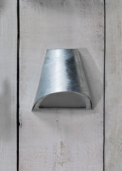 Hot Dipped Funnel Wall Light
