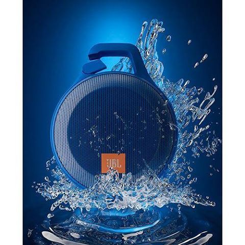 [SOMMOB]Jbl Speaker Clip + 3,2w Rms Conexão Auxiliar - R$ 210,32 No Boleto