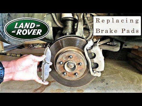1 Land Rover How To Replace Your Brake Pads Eliminate Brake Squeaking Stop Better Youtube Brake Pads Land Rover Land Rover Discovery