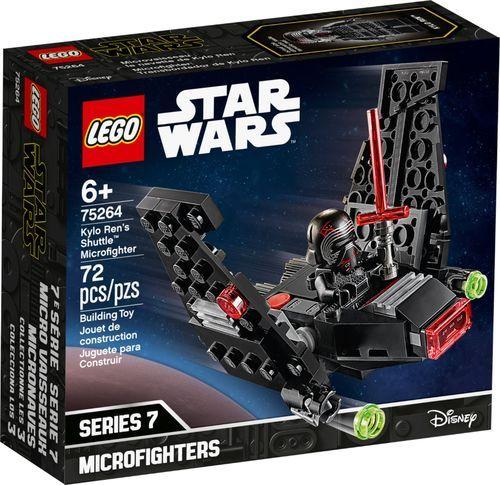 Lego Star Wars Kylo Ren S Shuttle Microfighter 75264 6288988 Best Buy In 2020 Lego Star Star Wars Kylo Ren Lego Star Wars