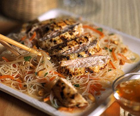 Lemon grass Chicken and Rice Noodles Recipe | Food Recipes - Yahoo! Shine  http://shine.yahoo.com/food/recipes/lemon-grass-chicken-and-rice-noodles-534865.html#