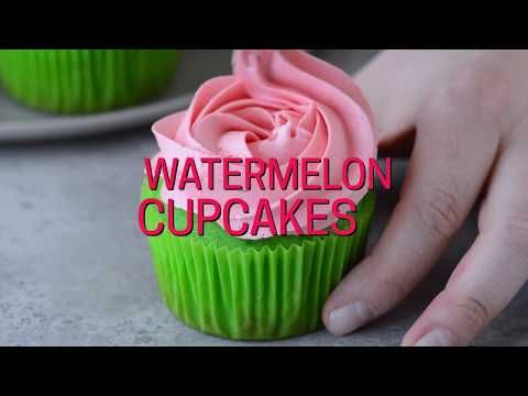 Watermelon Desserts And Ideas For Summer I Heart Nap Time Watermelon Cupcakes Watermelon Cake Candy Cakes